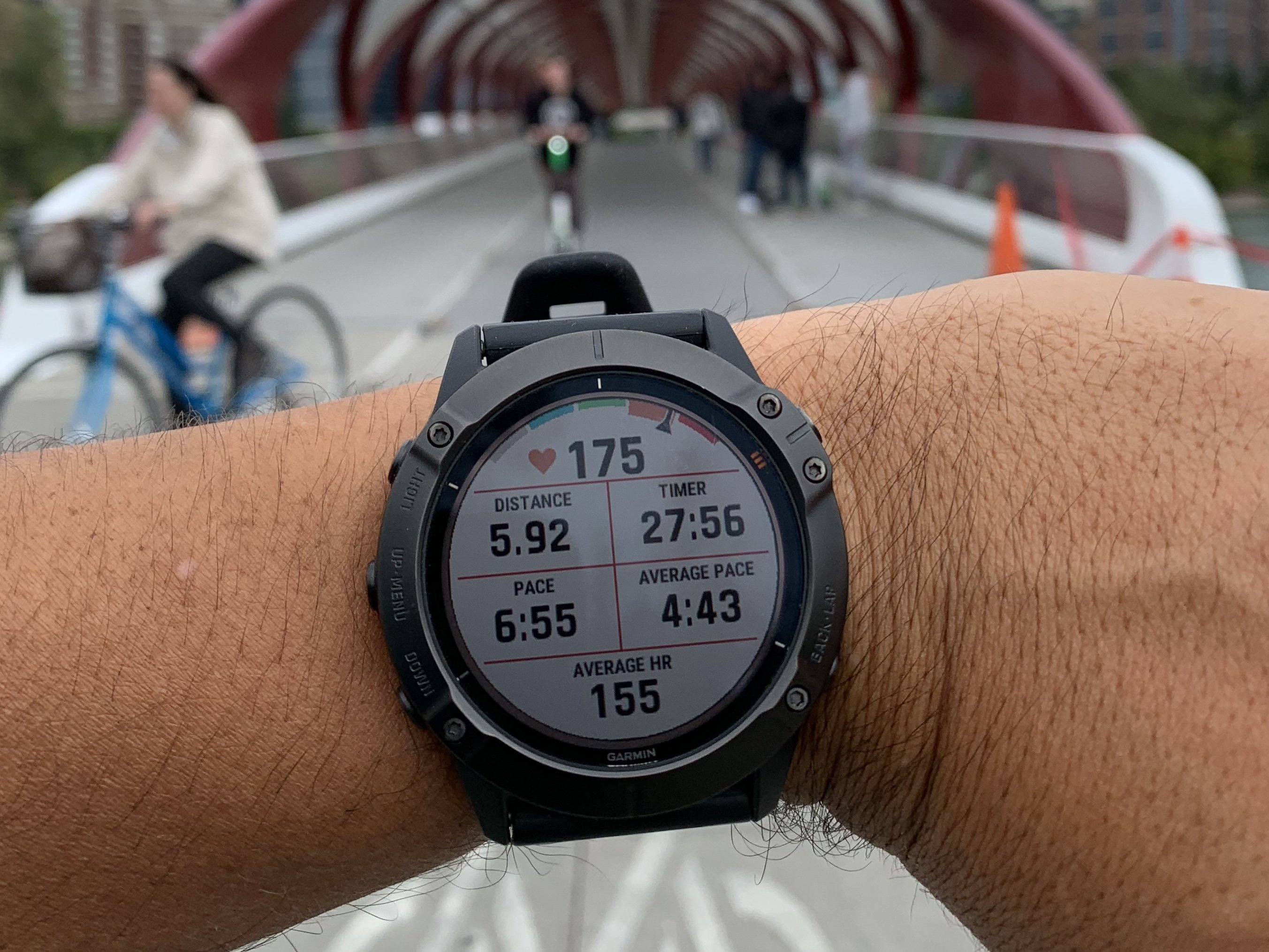 Apple Watch Series 5 versus Garmin fenix 6