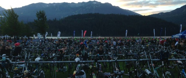 The Ironman Canada Whistler Bike Course